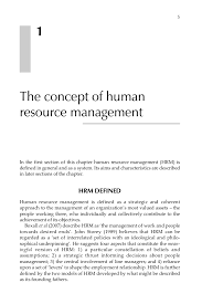 Sample Objectives In Resume For Hrm Strategic Human Resource Management A Guide To Action