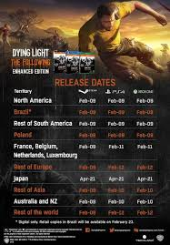 dying light playstation 4 dying light the following now has a release date playstation 4