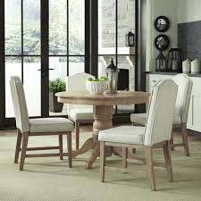 dining room table ls classic 5 piece dining set in white wash finish homestyles