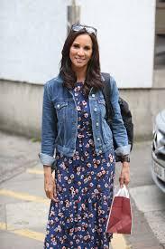 andrea mclean seen leaving the itv studios in london celebs by
