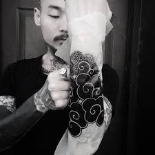 i want to tattoo this koreantraditionalpattern cloud on forearm