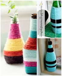 35 diy flower vases creative tutorials simple diy flower vases