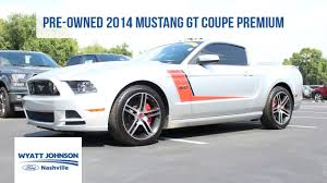 pre owned ford mustang 2014 ford mustang gt coupe premium used car for sale ford