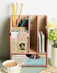 Vintage Desk Organizers Best 25 Desk Tidy Ideas On Pinterest Craft With Paper Plates