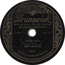Art Tatum Blind Brunswick 6543 U2013 Art Tatum U2013 1933 Old Time Blues