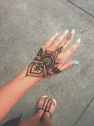 delicate henna tattoo designs