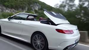 hardtop convertible cars mercedes benz s63 amg cabriolet youtube
