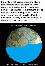 Earth Meme - flat earthers in christ facebook group meme about globe earth gravity