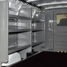 Cargo Van Shelves by Used Chevy Work Vans For Sale Autos Post