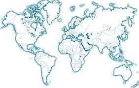 carte monde noir et blanc les inégalités de développement dans le monde thinglink