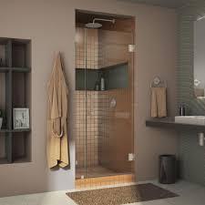 29 Inch Interior Door Dreamline Unidoor 29 In X 72 In Frameless Hinged Pivot Shower