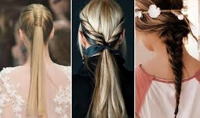 Different Hairstyles For Long Hair Braids Ponytails Hairstyles For Long Hair Medium Hair Styles
