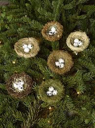 ornaments bird tree ornaments bird nest or