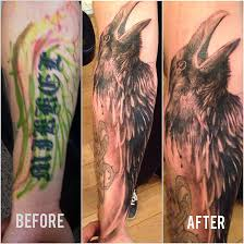 raven and wings tattoo by sunny bhanushali at tattoo fashion denmark