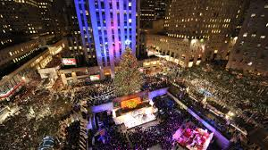 rock center christmas tree once again star of nyc cbs new york