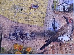 The Wave Arizona Map by Amazon Com Arizona Map Jigsaw Puzzle 1000 Piece Map Of The