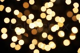 abstract view of white tree lights stock photo colourbox