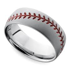 cool mens rings cool men s wedding rings for sports fanatics
