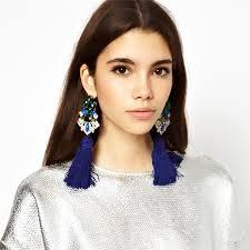 large earrings amazing designs in tassel earrings fashion trend