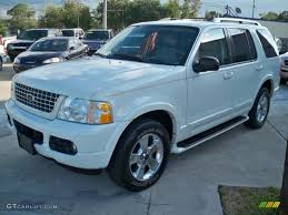 Ford Explorer Awd - 2003 oxford white ford explorer limited awd 63038868 gtcarlot