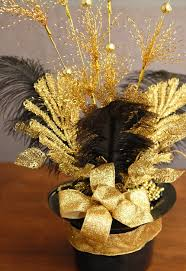 black and gold centerpieces for tables black gold table decorations google search prom pinterest