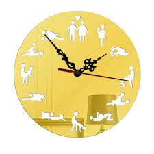 Spiegel Home Decor Online Shop Acryl Spiegel Wandklokken Diy Beweging Quartz Horloge