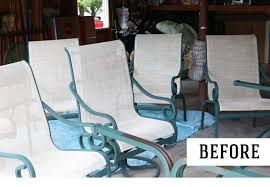 painting patio furniture painting metal furniture how to paint