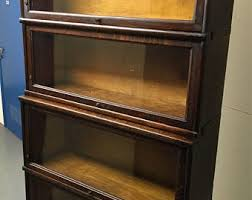 Macey Barrister Bookcase Barrister Bookcase Etsy