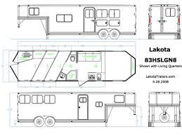 lakota 3 horse gooseneck horse trailers from heavy hauler trailers