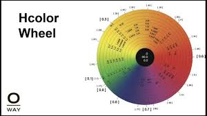 Hair Color Wheel Chart Oway U2022 Professional Ammonia Free Hair Color Training Cruelty