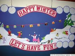 Notice Board Decoration On New Year by 80 Best Winter Bulletin Boards Images On Pinterest
