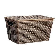 ikea baskets wicker storage baskets medium lidded baskets wicker under bed