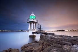 light house at night cremorne point lighthouse at night sydeny australia cremorne