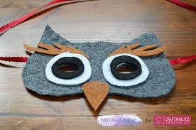 owl mask craftaholics anonymous diy owl mask