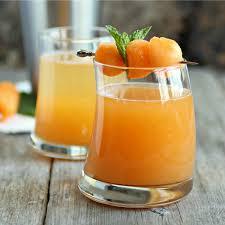 martini orange hungry couple cantaloupe melon martini
