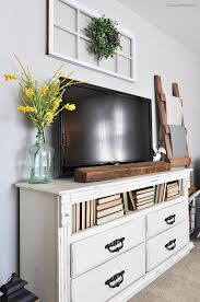 bedroom entertainment dresser incredible julie peterson simple redesign turning a mcm dresser