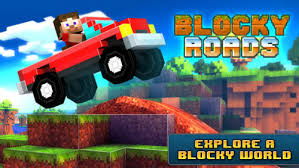game design your own car minecraft look alike blocky roads now available on the app store