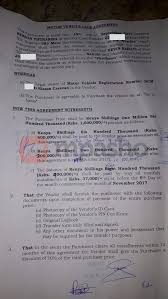 motor vehicle sale agreement form kenya vehicle ideas