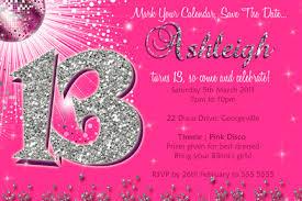 13th birthday invitations blueklip com