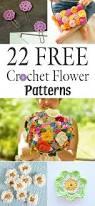 Free Pattern For Crochet Flower - 22 free crochet flower patterns free crochet flower patterns