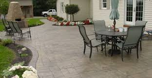 Concrete Backyard Ideas Concrete Backyard Design Patio Designs Tips For Placement And