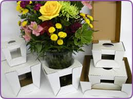 floral delivery flower vase delivery boxes for terrariums and apothecary jars