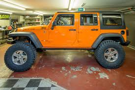 jeep wrangler orange currie enterprises suspension system for jeep jk wrangler