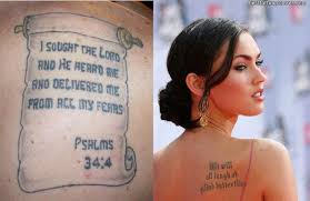 pictures gallery bible quotes tattoos bible quote tattoos