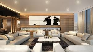 Wood Paneling Walls Living Room Spacious Living Room Features Wood Paneled Walls With