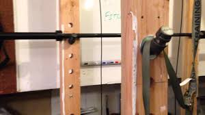 Diy Wood Rack Plans by Wooden Power Rack Plans On How To Build One Youtube