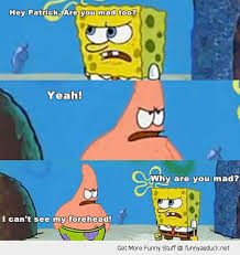 Memes Funny Spongebob - i can t see my forehead otherstuff pinterest funny