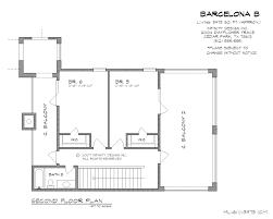 floor plans to scale infinity design barcelona b