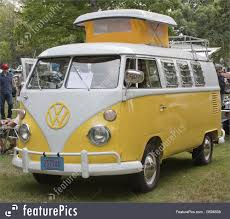volkswagen camper yellow u0026 white 1966 vw camper full view picture