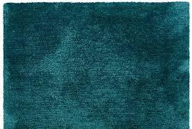 Shag Rug Solid Teal Blue Plush Shag Rug Woodwaves